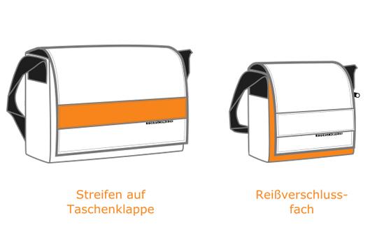 Varianten für selbstgestaltete Taschen